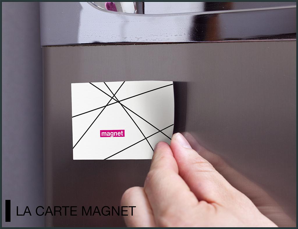 carte magnet mockup