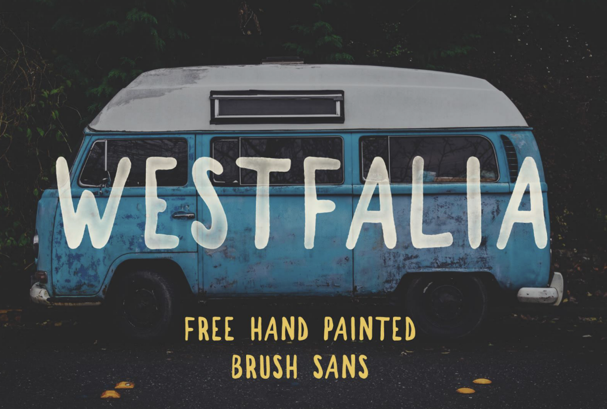westfalia typographie gratuite