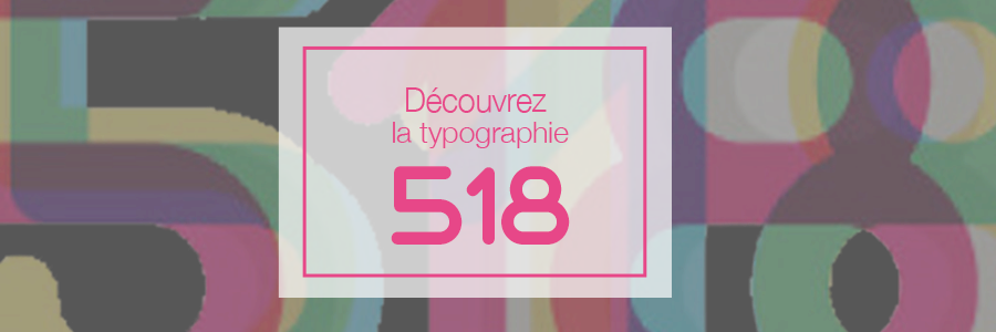 header typographie 518