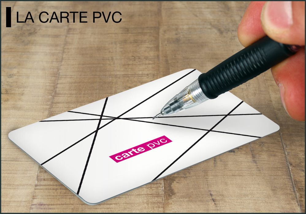carte pvc mockup