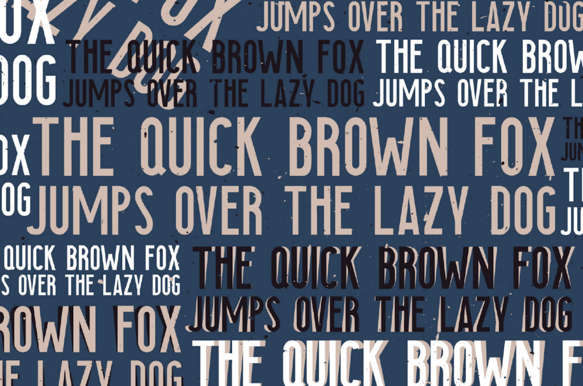 typographie searocks