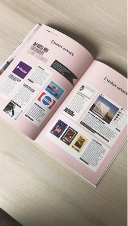 Magazine Examag Article créativité