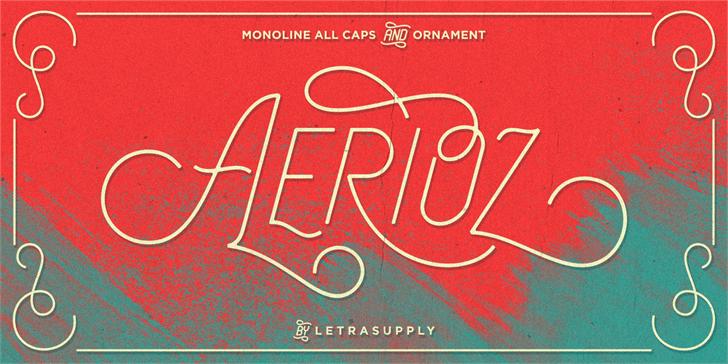 typographie aerioz