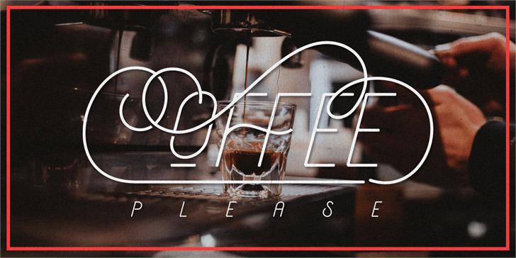 typographie aerioz coffee