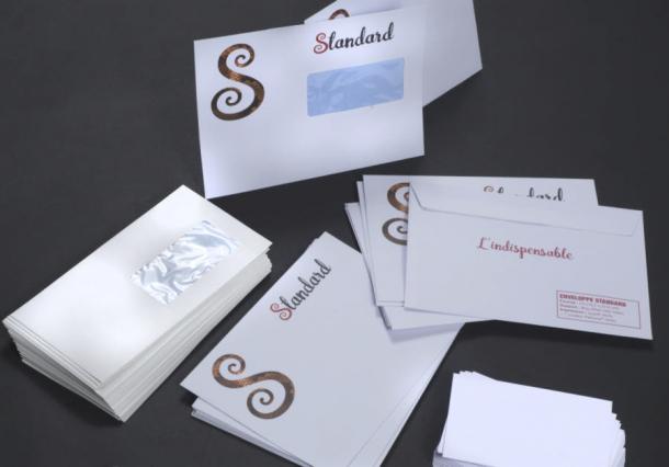 enveloppe standard papeterie