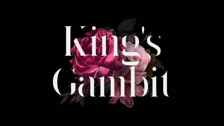 typographie king's gambit