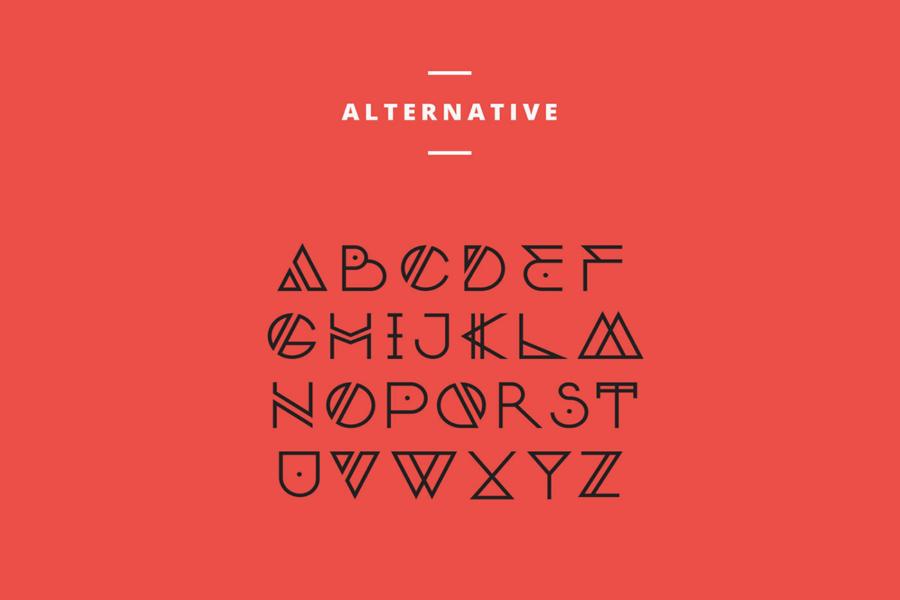 typographie nordic alternative