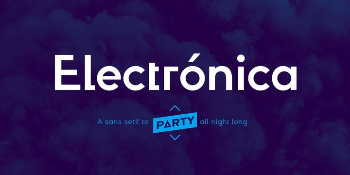 typographie electronica