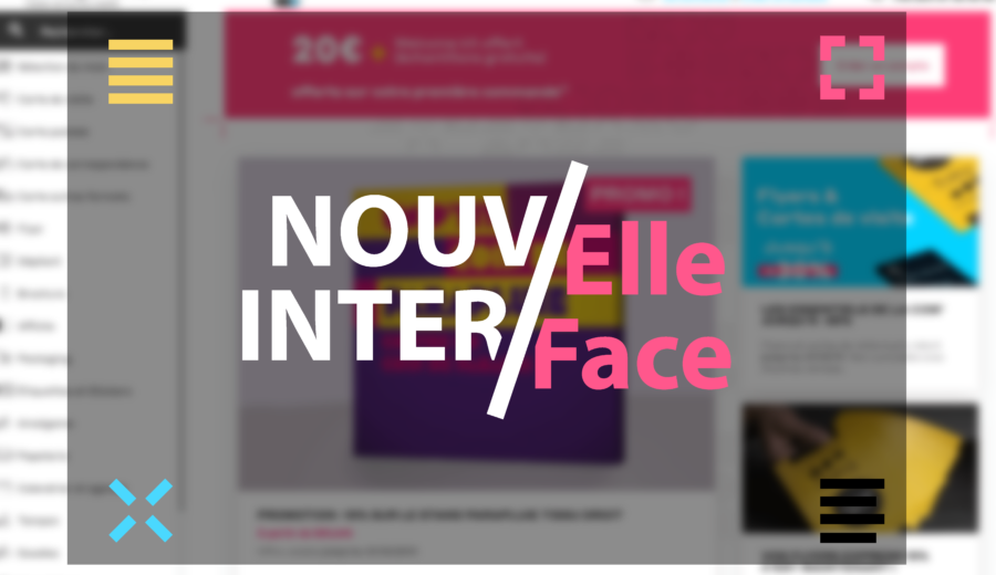 nouvelle interface site exaprint
