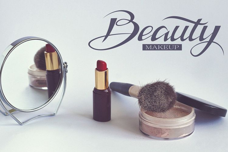 typographie produits cosmetiques