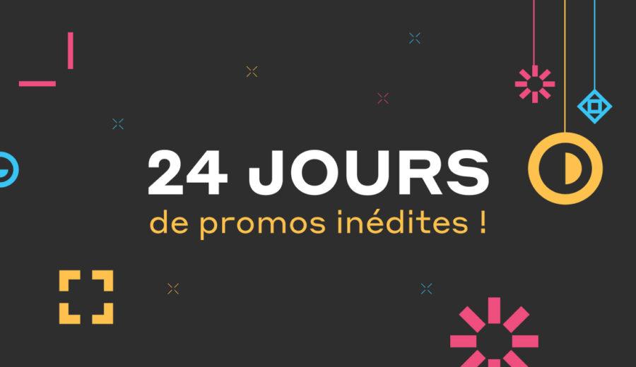 24 jours promos crazy noel