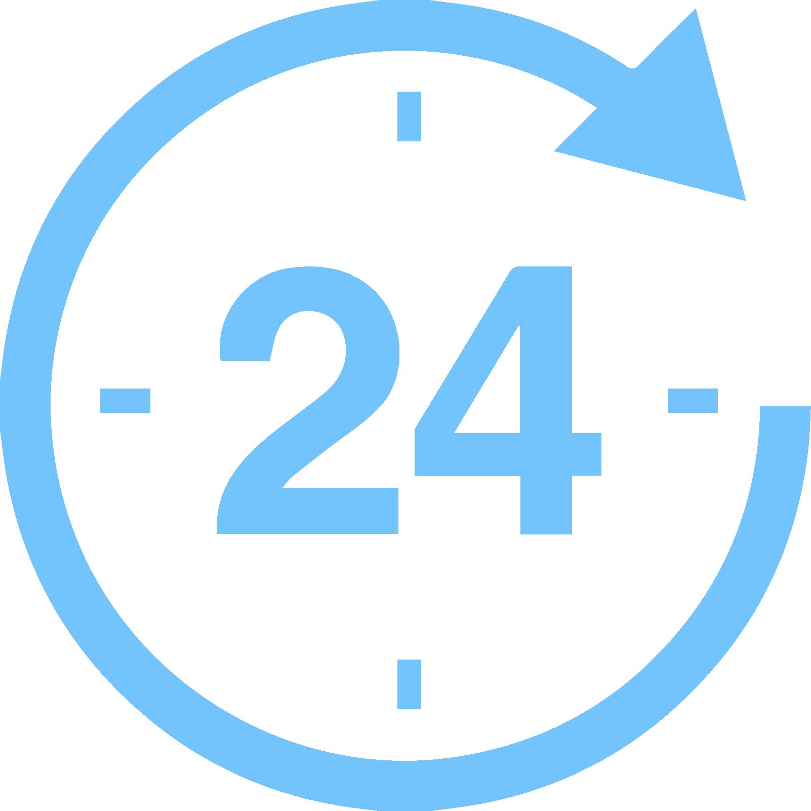 icone disponibilité service client
