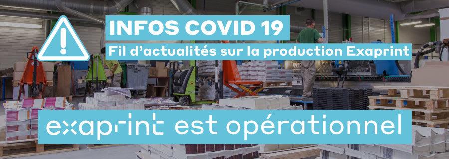 infos covid 19 exaprint
