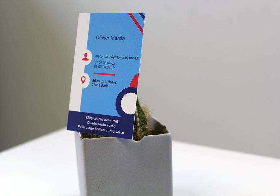 carte de visite verso olivier martin
