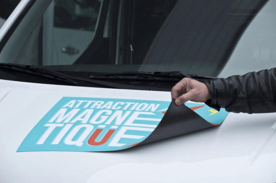 magnet capot vehicule