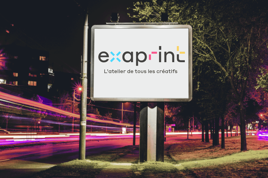 panneau publicitaire grand format outdoor exaprint