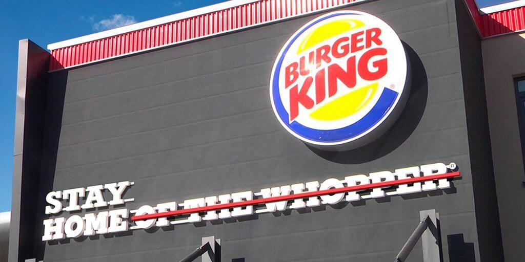 slogan burger king coronavirus