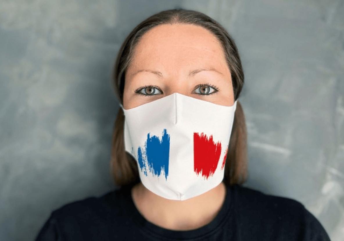 impression masque de protection tissu covid 19