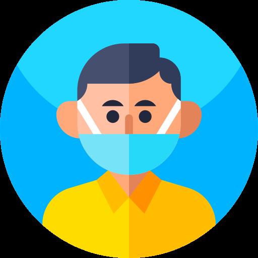 icone port de masque de protection
