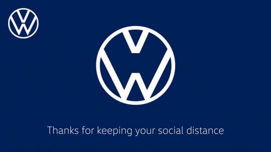 logo volskwagen distance sociale