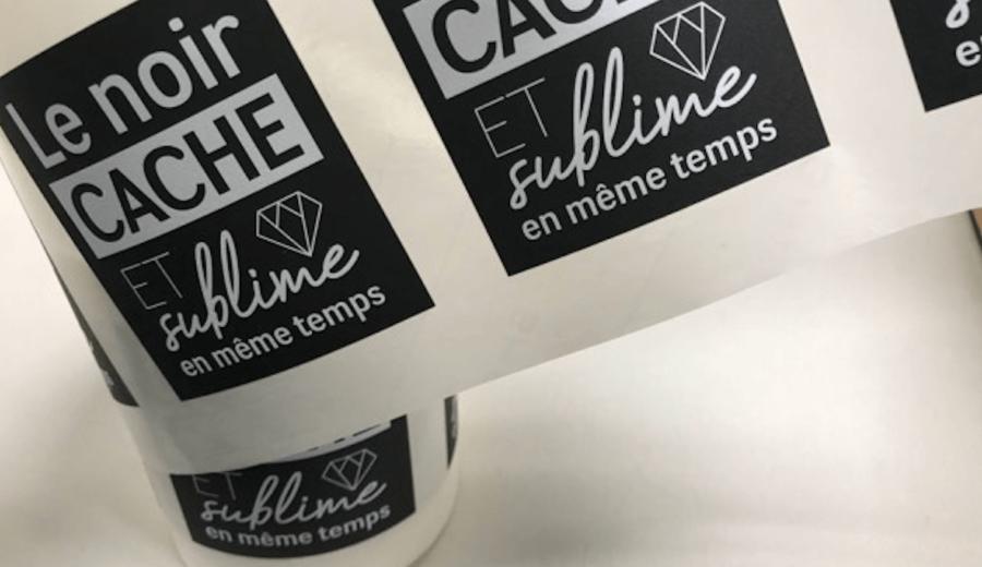 selection de produits imprimes etiquettes en rouleau