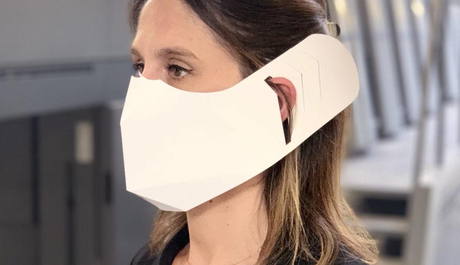 masque de protection papier