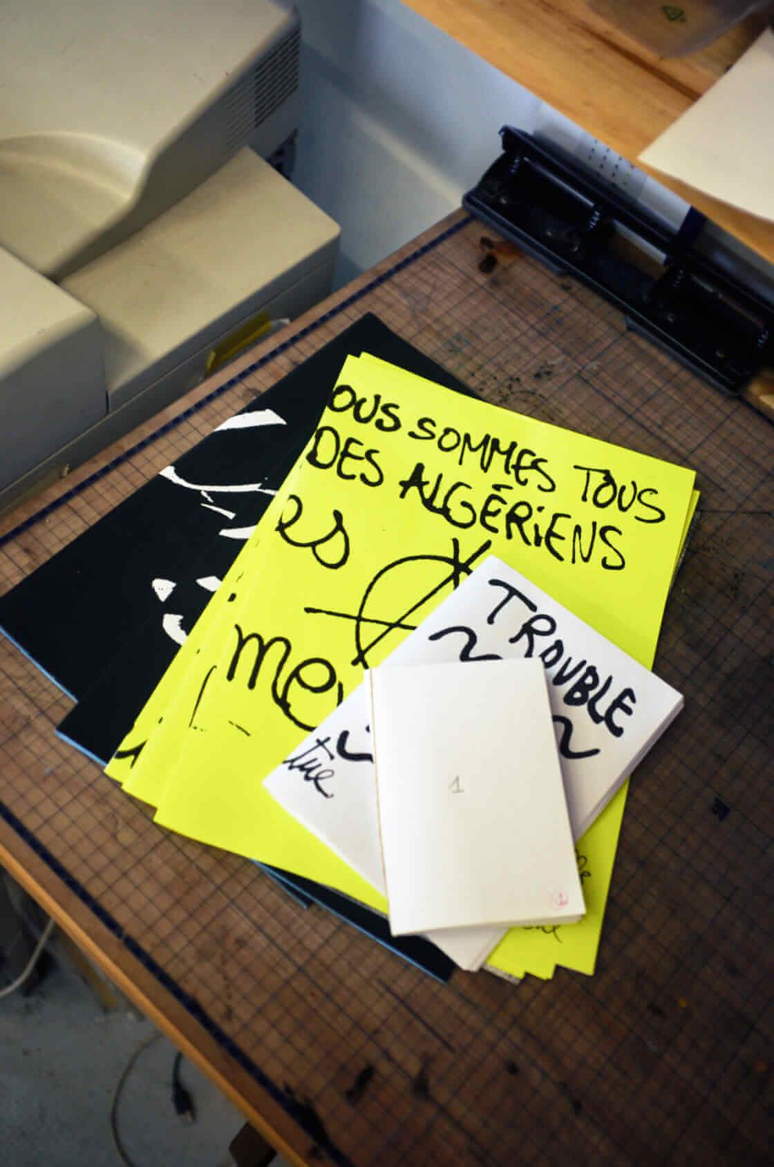 ensemble des creations projet defense d'afficher par rotolux press
