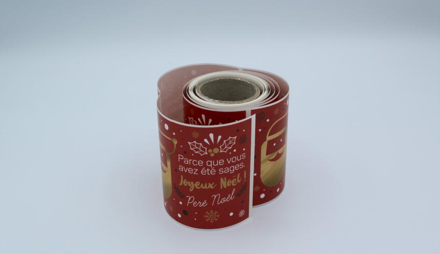 sticker adhesif joyeux noel