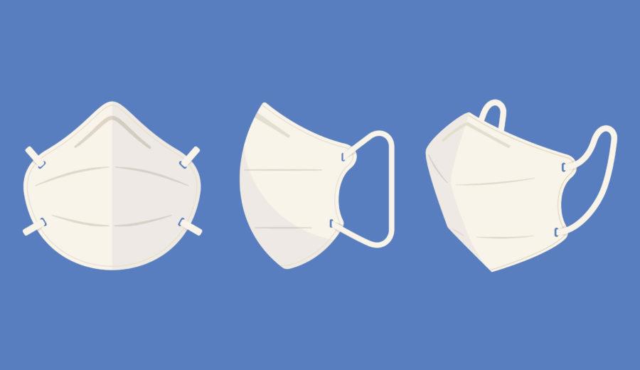 3 masques de protection