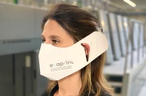 examask exaprint masque en papier