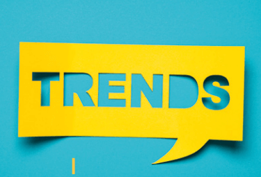 trends et tendances graphiques