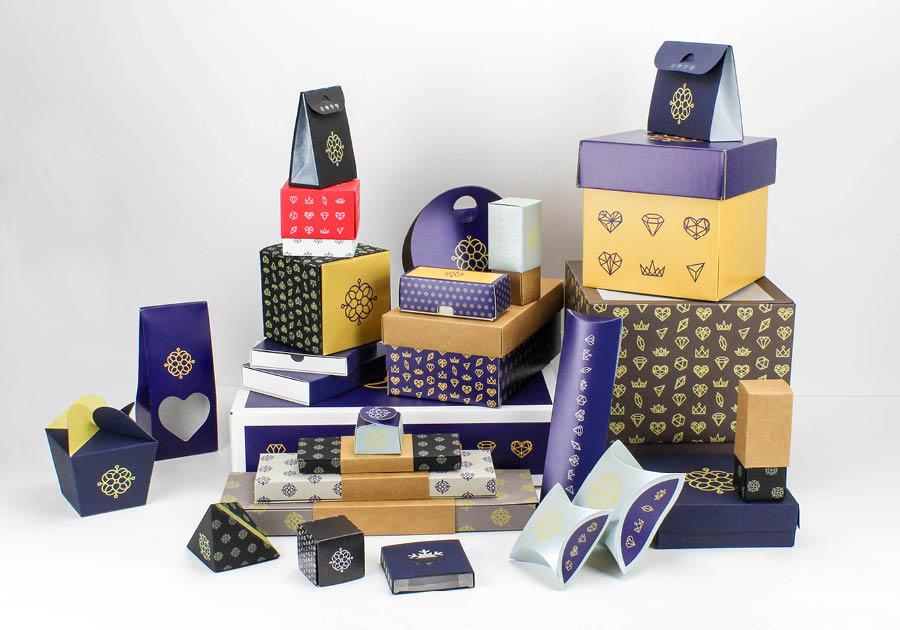 packaging personnalisables pour cadeau