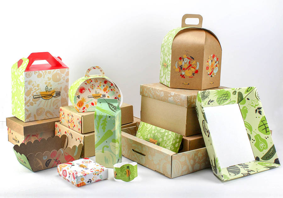 packaging alimentaires personnalisables