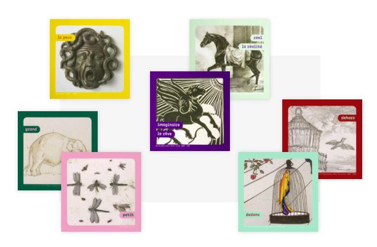 cadre d'exposition studio lebleu