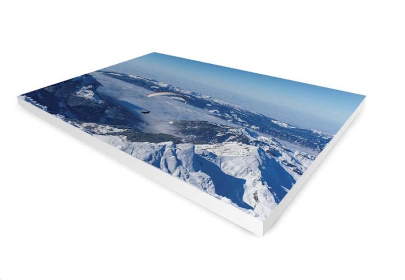 toile de peintre paysage montagnes