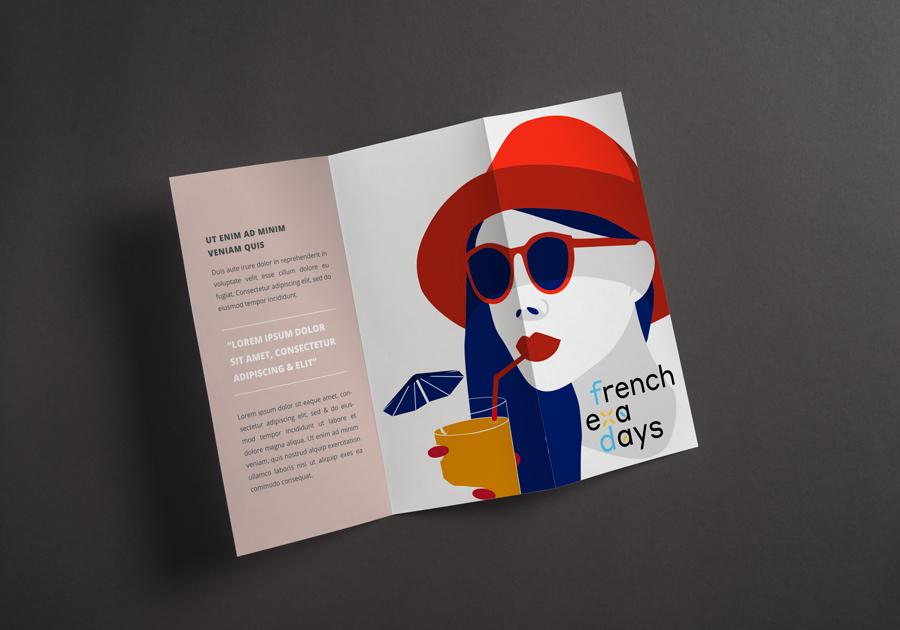 dépliant promo french days